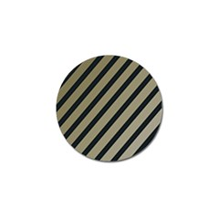 Decorative elegant lines Golf Ball Marker