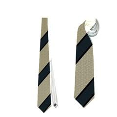Decorative elegant lines Neckties (One Side)