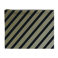Decorative elegant lines Cosmetic Bag (XL)