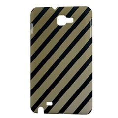 Decorative elegant lines Samsung Galaxy Note 1 Hardshell Case
