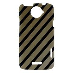 Decorative elegant lines HTC One X Hardshell Case