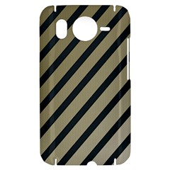 Decorative elegant lines HTC Desire HD Hardshell Case