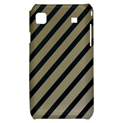Decorative elegant lines Samsung Galaxy S i9000 Hardshell Case
