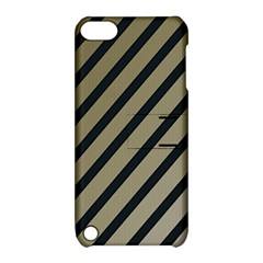 Decorative elegant lines Apple iPod Touch 5 Hardshell Case with Stand