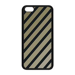 Decorative elegant lines Apple iPhone 5C Seamless Case (Black)
