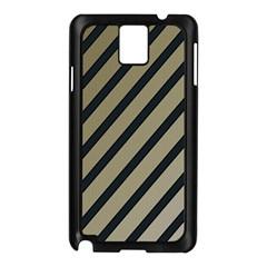 Decorative elegant lines Samsung Galaxy Note 3 N9005 Case (Black)