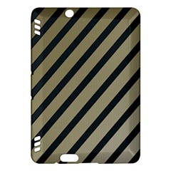 Decorative elegant lines Kindle Fire HDX Hardshell Case