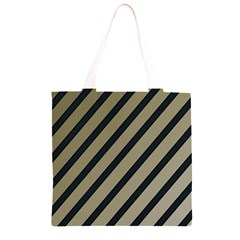 Decorative elegant lines Grocery Light Tote Bag