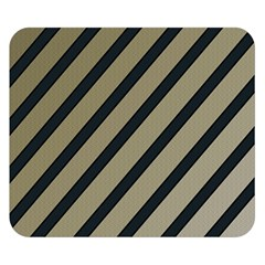Decorative elegant lines Double Sided Flano Blanket (Small)