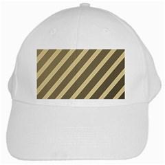 Golden elegant lines White Cap
