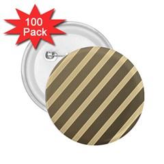 Golden elegant lines 2.25  Buttons (100 pack)