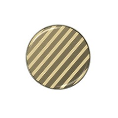 Golden elegant lines Hat Clip Ball Marker (4 pack)