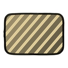 Golden elegant lines Netbook Case (Medium)
