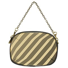 Golden elegant lines Chain Purses (One Side)