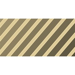 Golden elegant lines YOU ARE INVITED 3D Greeting Card (8x4)