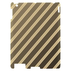 Golden elegant lines Apple iPad 2 Hardshell Case
