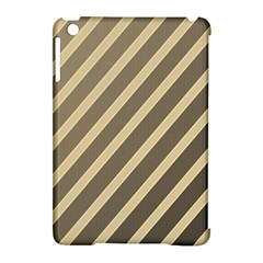 Golden elegant lines Apple iPad Mini Hardshell Case (Compatible with Smart Cover)