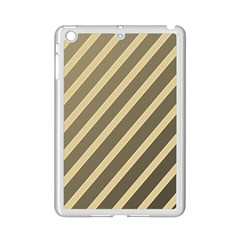 Golden elegant lines iPad Mini 2 Enamel Coated Cases