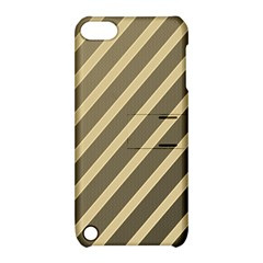 Golden elegant lines Apple iPod Touch 5 Hardshell Case with Stand