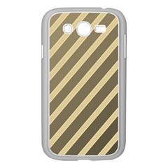Golden elegant lines Samsung Galaxy Grand DUOS I9082 Case (White)
