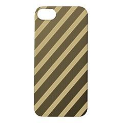 Golden elegant lines Apple iPhone 5S/ SE Hardshell Case