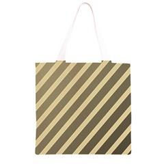 Golden elegant lines Grocery Light Tote Bag