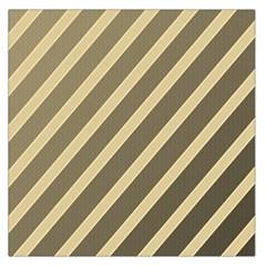 Golden elegant lines Large Satin Scarf (Square)