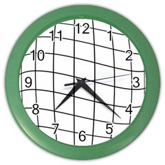 Simple lines Color Wall Clocks
