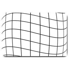Simple lines Large Doormat