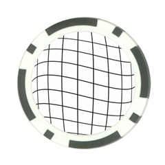 Simple lines Poker Chip Card Guards