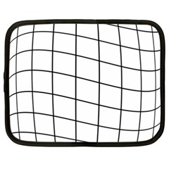 Simple lines Netbook Case (XXL)