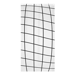Simple lines Shower Curtain 36  x 72  (Stall)