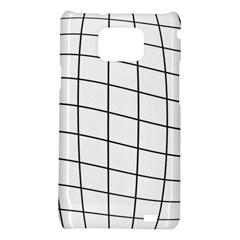 Simple lines Samsung Galaxy S2 i9100 Hardshell Case