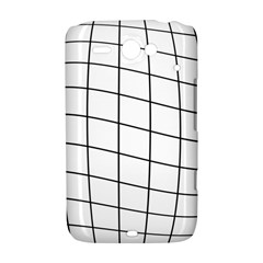 Simple lines HTC ChaCha / HTC Status Hardshell Case