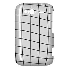 Simple lines HTC Wildfire S A510e Hardshell Case