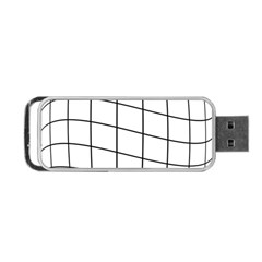 Simple lines Portable USB Flash (One Side)