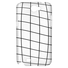 Simple lines Samsung Galaxy Note 2 Hardshell Case