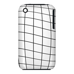 Simple lines Apple iPhone 3G/3GS Hardshell Case (PC+Silicone)