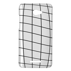 Simple lines HTC Butterfly X920E Hardshell Case
