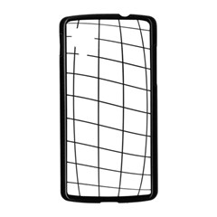 Simple lines Nexus 5 Case (Black)