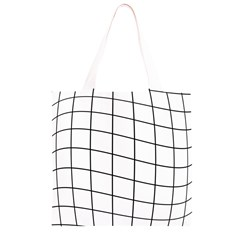 Simple lines Grocery Light Tote Bag