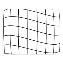 Simple lines Double Sided Flano Blanket (Large)