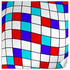 Colorful cubes  Canvas 16  x 16