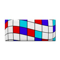 Colorful cubes  Hand Towel