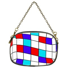 Colorful cubes  Chain Purses (Two Sides)