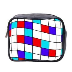 Colorful cubes  Mini Toiletries Bag 2-Side