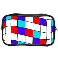 Colorful cubes  Toiletries Bags
