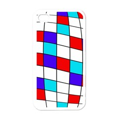Colorful cubes  Apple iPhone 4 Case (White)
