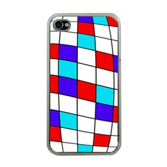 Colorful cubes  Apple iPhone 4 Case (Clear)