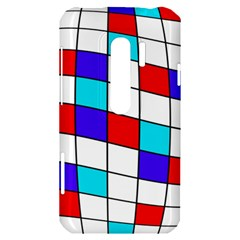 Colorful cubes  HTC Evo 3D Hardshell Case